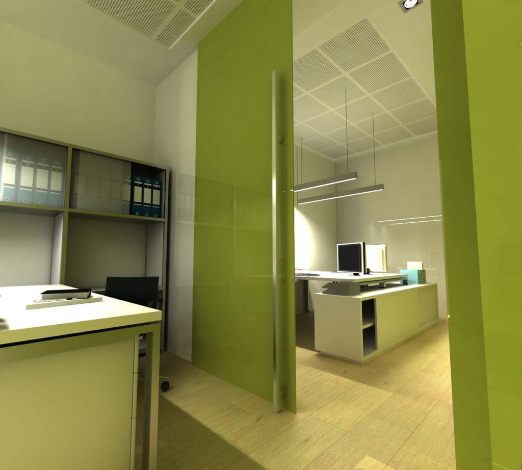 Dise o de interiores para oficina en alicante arinni estudio for Oficina empleo alicante