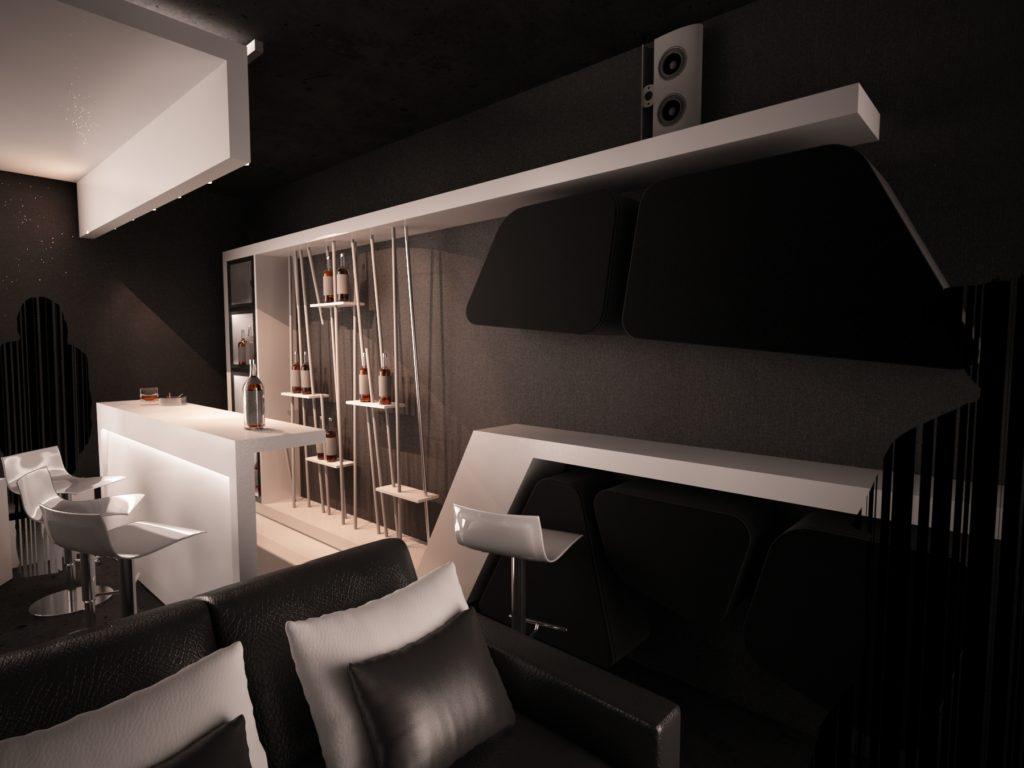 Dise o de interiores en boadilla del monte arinni estudio - Estudio de interiores ...