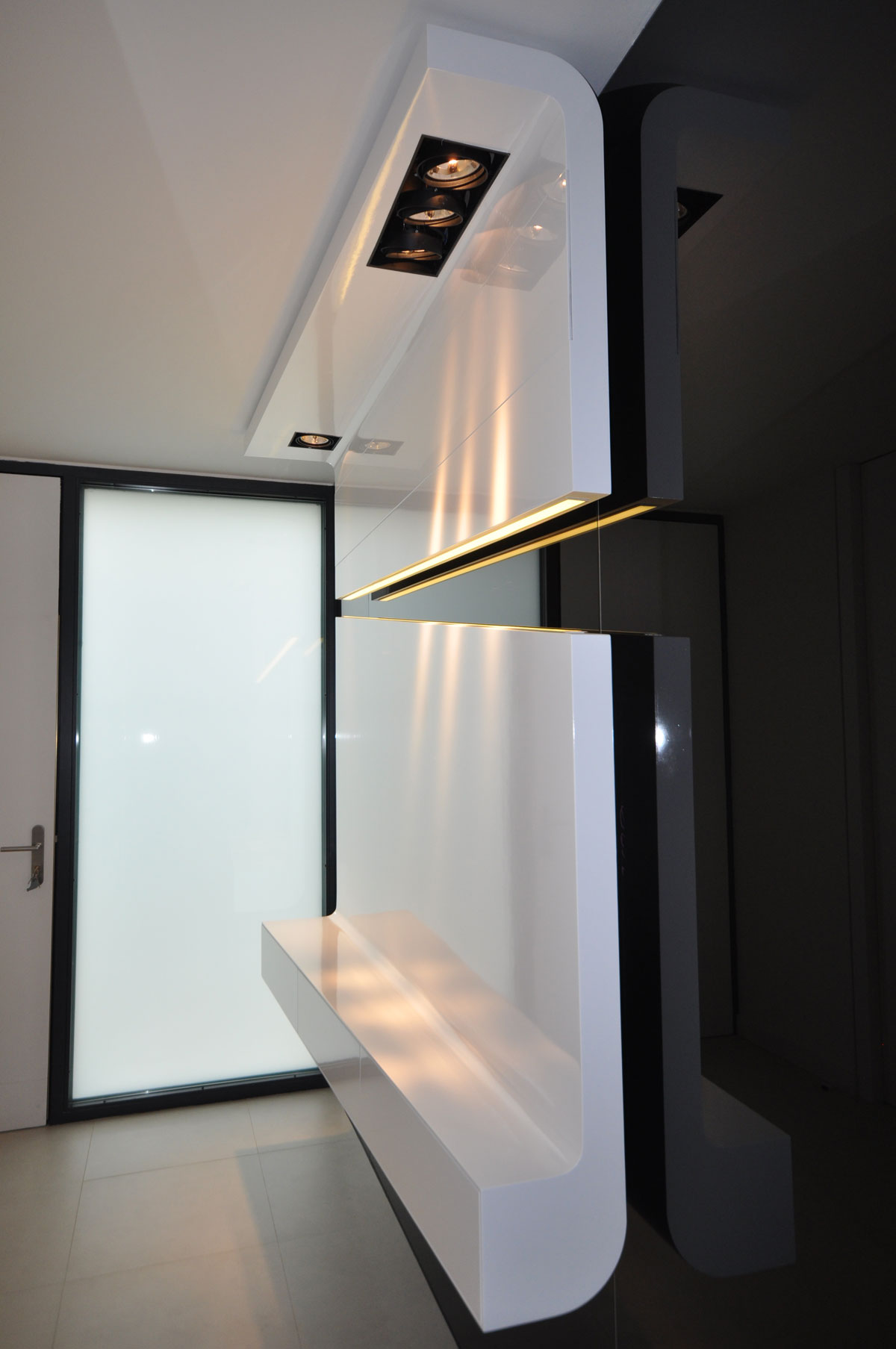 Mueble recibidor moderno arinni estudio - Mueble recibidor moderno ...