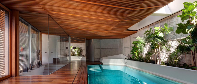 Zona de spa privado en casa en bratislava arinni estudio - Spa tres casas ...