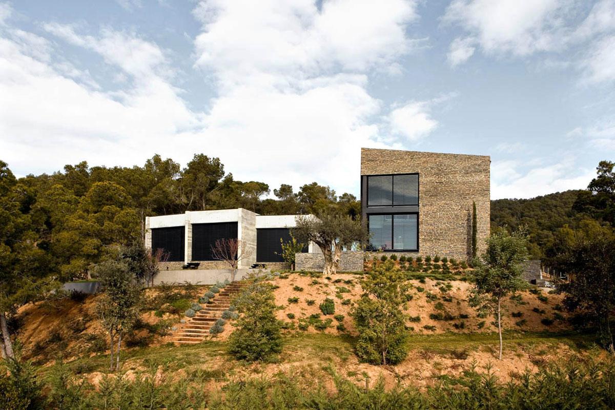 Dise o vivienda moderna de marta garc a orte arinni estudio - Disenos de viviendas ...