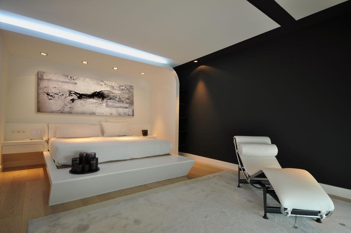 Dise o dormitorio principal estudio arinni for Diseno dormitorio