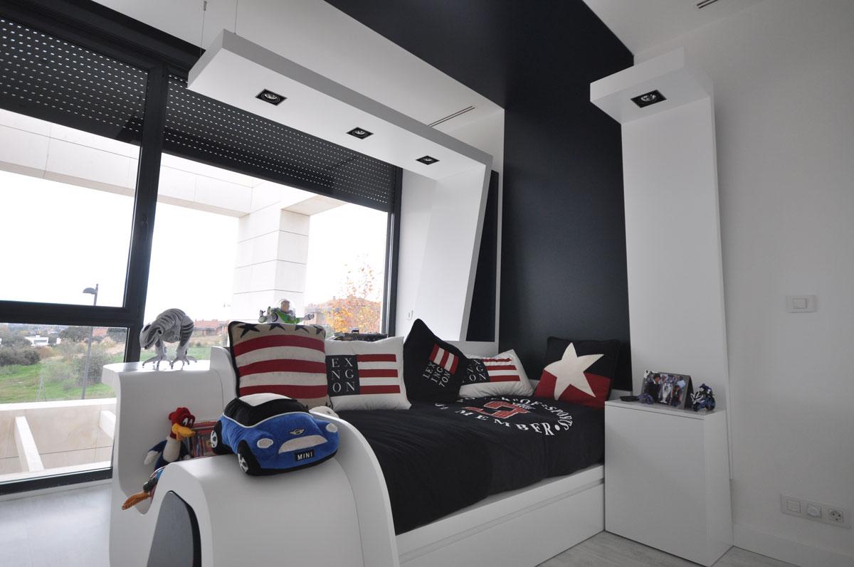 Dise o de dormitorios juveniles estudio arinni - Dormitorio juvenil nino ...