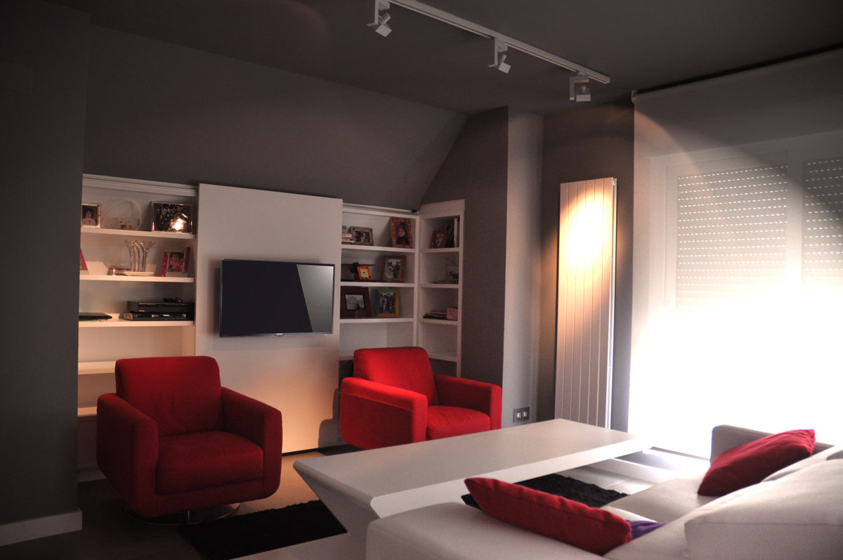 Dise o de mueble tv por estudio arinni estudio arinni - Diseno de muebles de tv ...