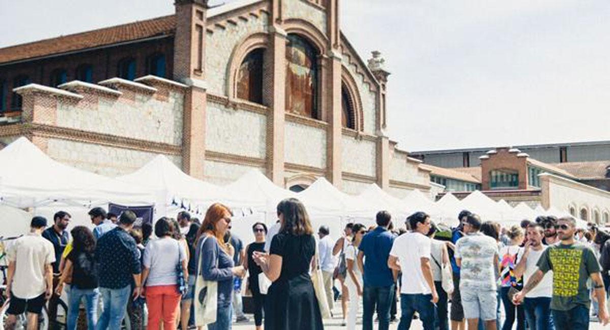 Mercado De Dise O En Matadero Madrid Estudio Arinni