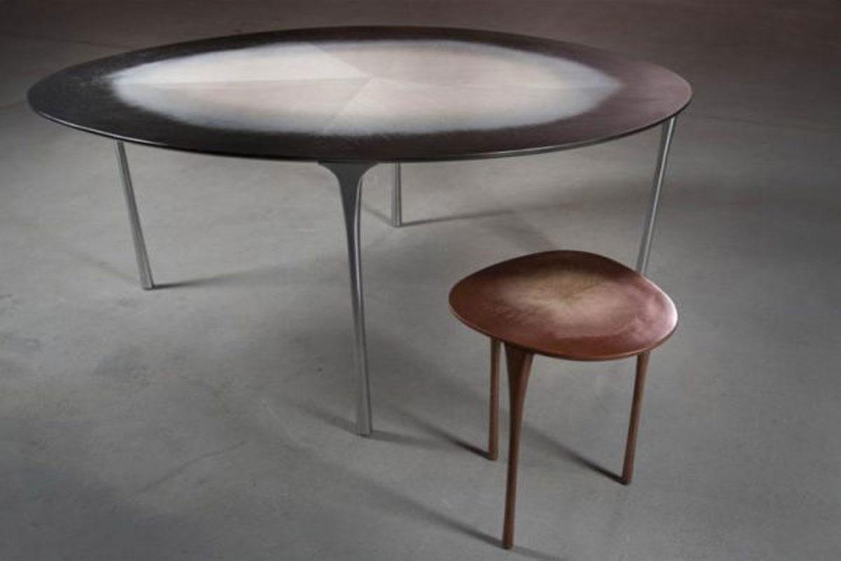 Dise o de mesa inspirada en madera studio uufie proyectos - Mesas de estudio de diseno ...