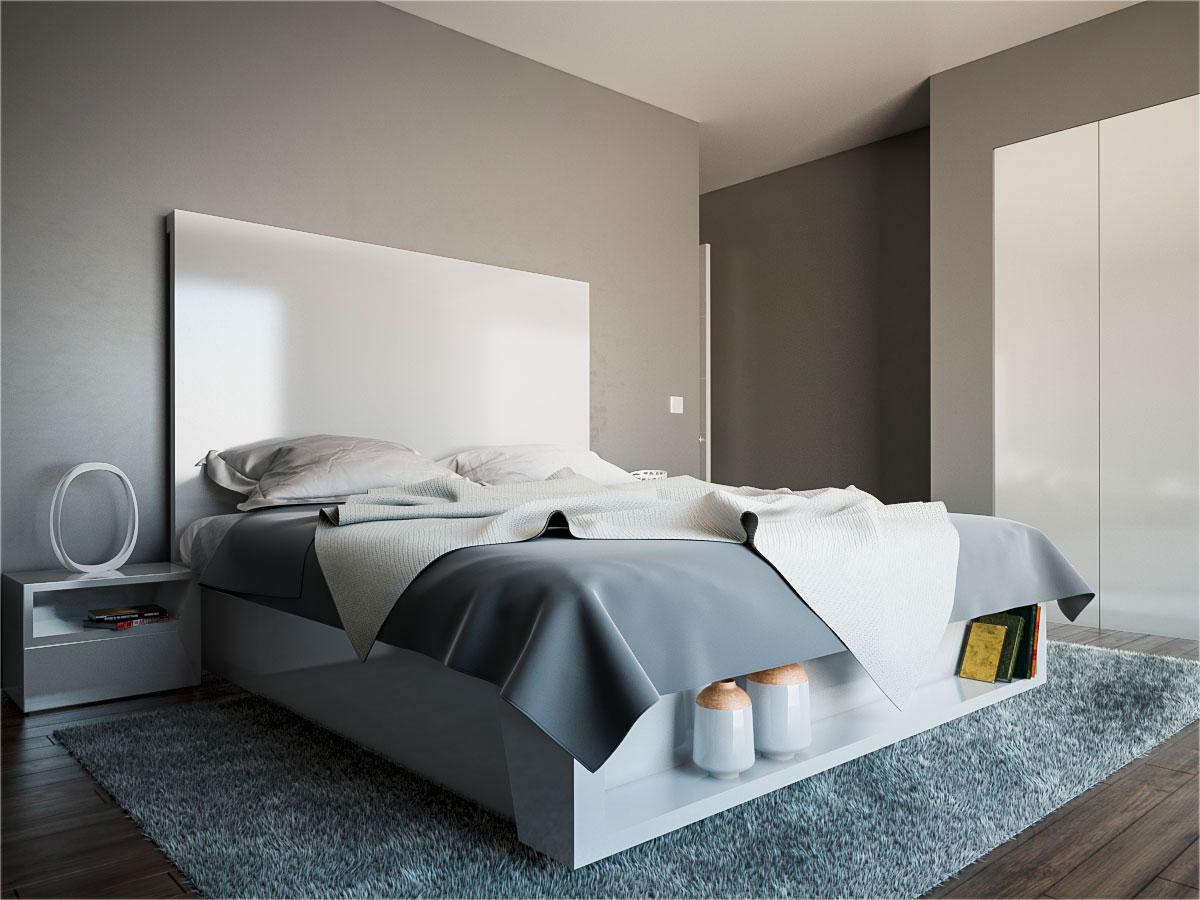 Dise o de dormitorio a medida arinni proyectos arinni - Dormitorio a medida ...