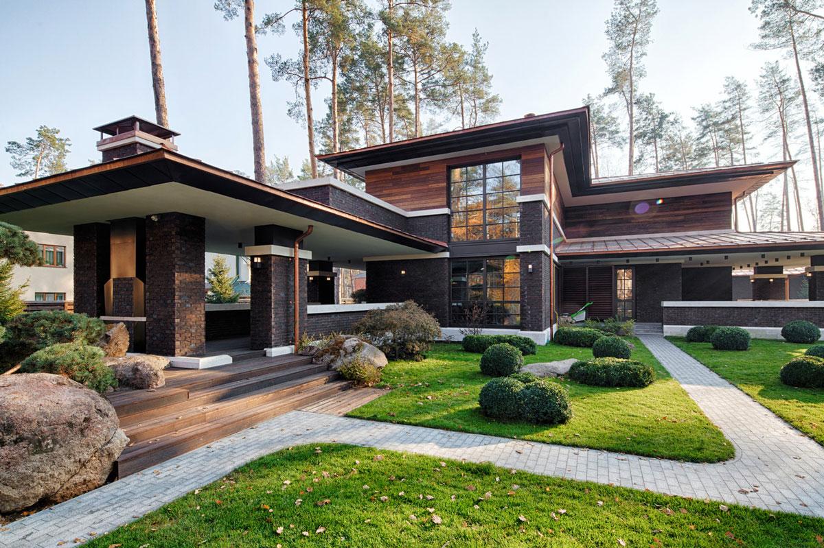 Casa diseño en el estilo de Wright / Blog Interiorismo Arinni