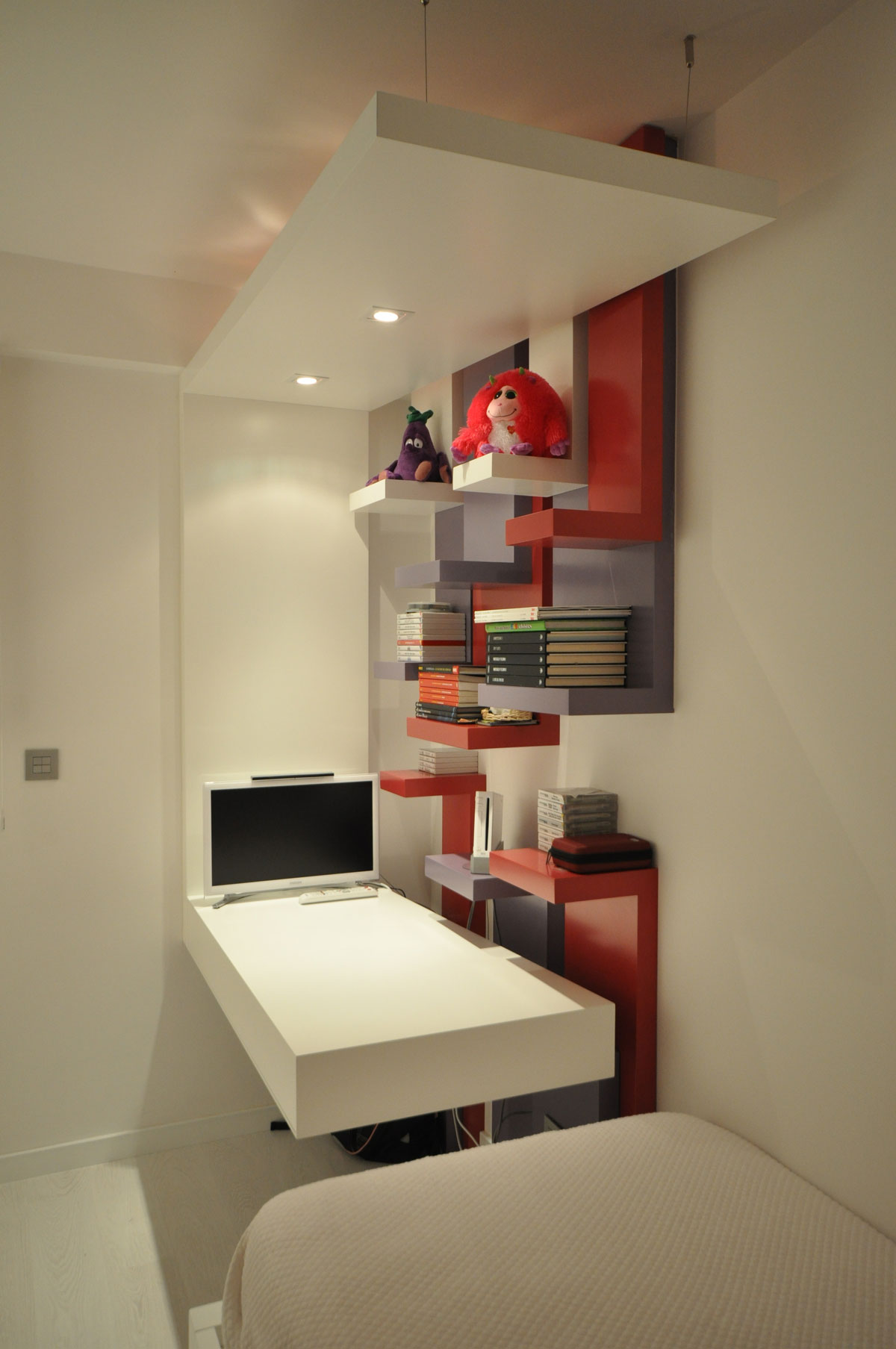 Dise o de dormitorios juveniles estudio arinni for Diseno de interiores habitaciones juveniles