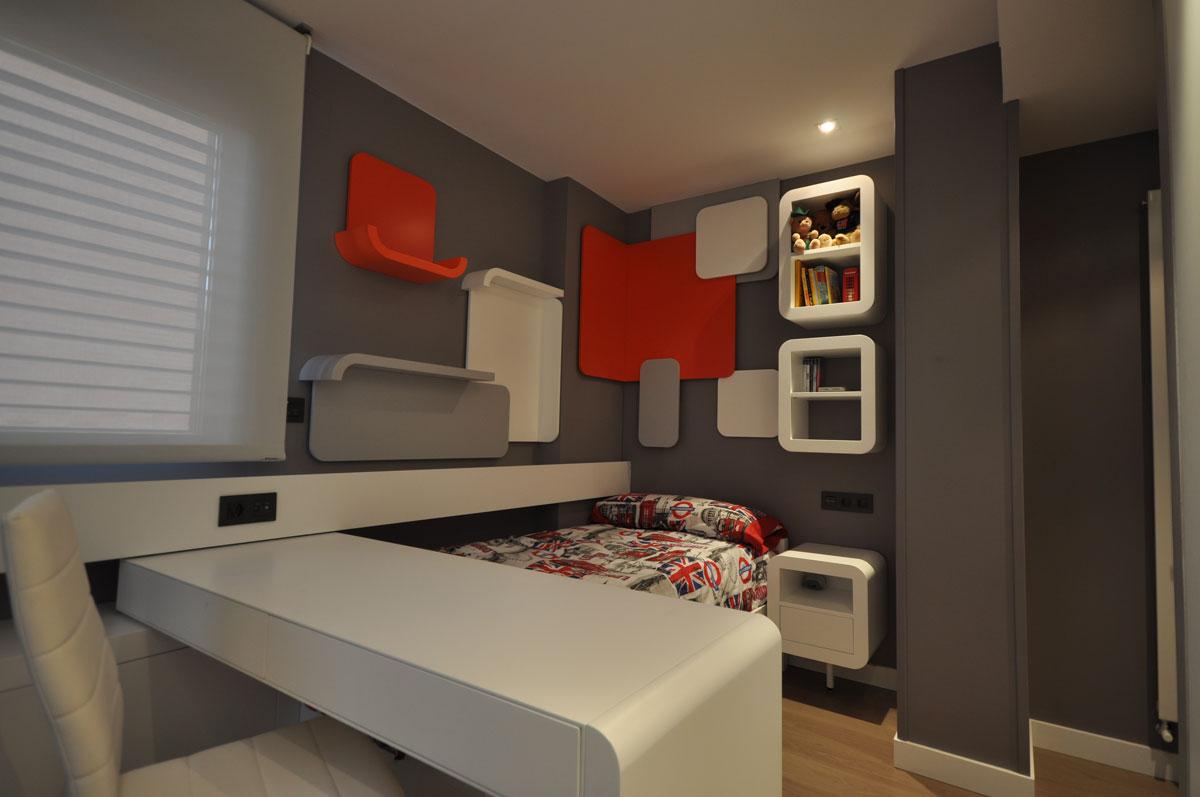 dise o de dormitorios juveniles estudio arinni On dormitorios juveniles diferentes