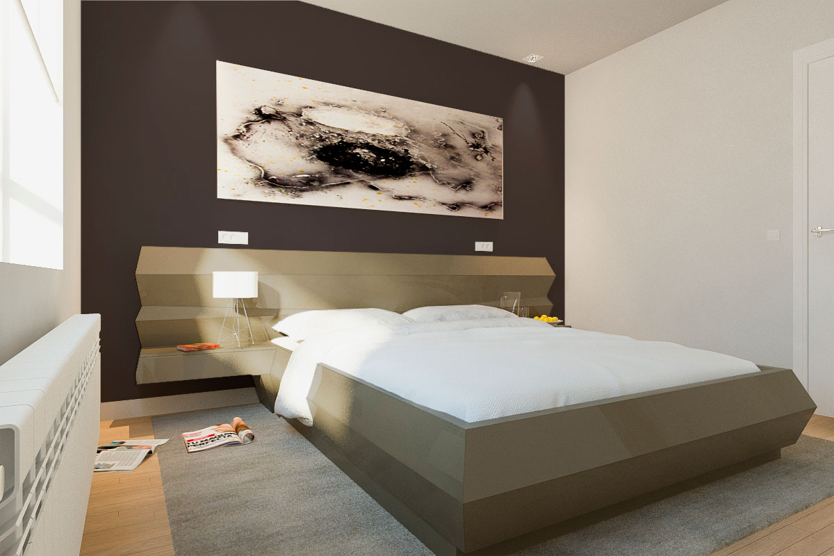 Dise o de dormitorios arinni estudio arinni for Diseno de dormitorio blanco