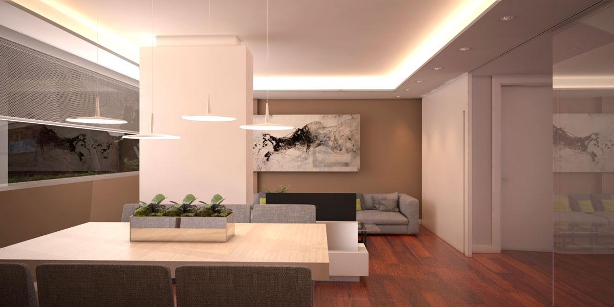 diseño de interior en Pozuelo