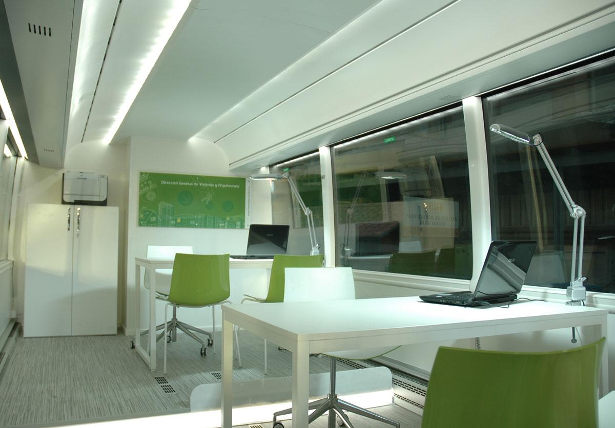 Dise o de oficina m vil de informaci n proyectos arinni for Diseno oficina