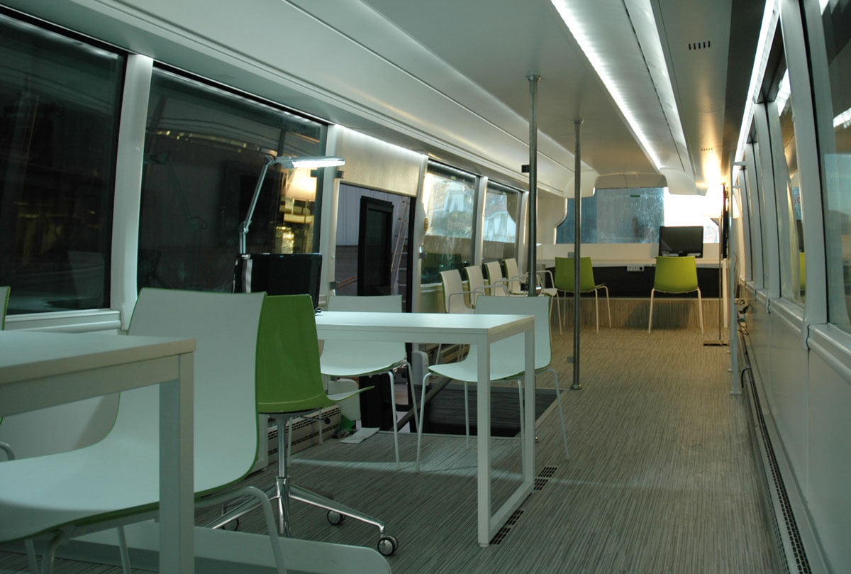diseño de oficina móvil