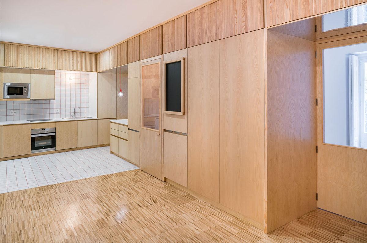 Reforma de un piso en el centro de madrid proyectos arinni - Reforma de pisos en madrid ...