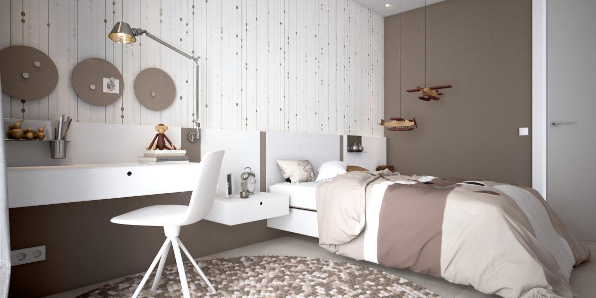18 Dormitorio infantil
